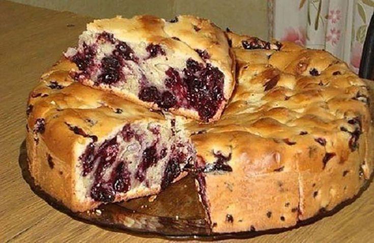 400 g liszt, 200 g vaj, friss gyümölcs és már készül is a puha kevert süti!