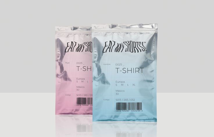 EAT MY SHORTS! is an independent brand of clothing for women and men that  seeks to break the gender barrier. The packaging makes no reference to  gender which embraces the growing trend of creating products and packaging  that is gender neutral.