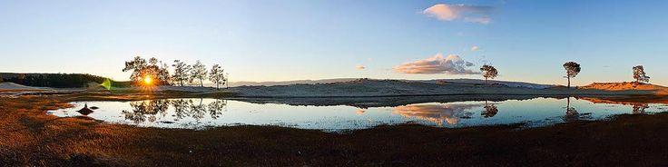 Байкальский оазис. Сарайский залив #baikal #baikal360 #Сарайскийзалив #panorama #лето #байкал #моребайкал #отдых #ольхон #olkhon #sunset #пляж #summer