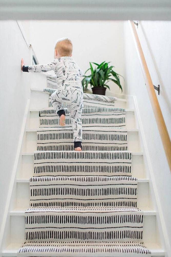 11 Stylish Stair Runners That Make a Bold Statement  on domino.com