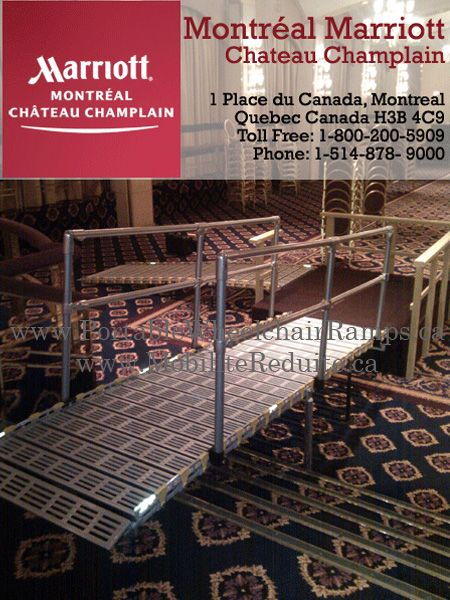 17 best images about rampe acces wheelchair ramps on pinterest canada belle and airports