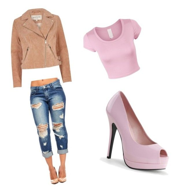 Untitled #129 by mariajimenez-2 on Polyvore featuring polyvore fashion style River Island clothing