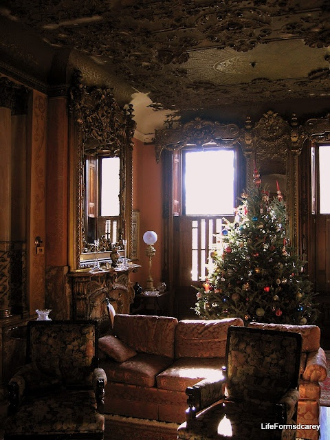 Living Room, corner 21st & Green, Bergdoll Mansion