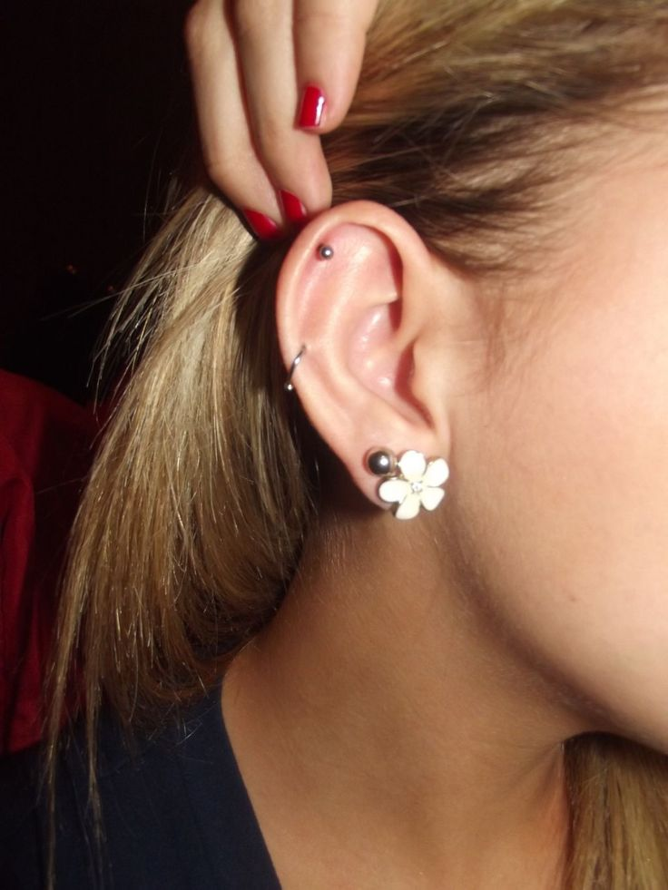 My goal!  Will be getting my second hole and second cartilage done after Falls Creek!