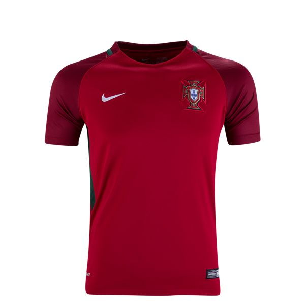 Nike Portugal Youth Home Jersey 2016