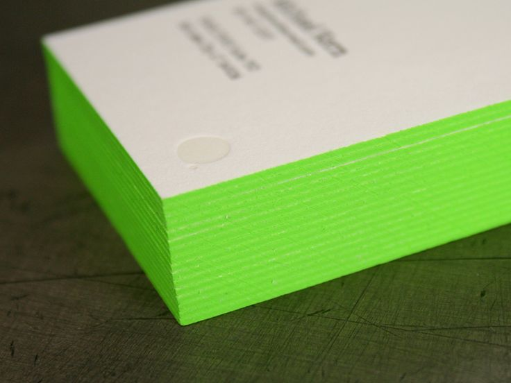 The 132 best branding print finishing images on pinterest welikesmall letterpress business cards edge colour reheart Image collections