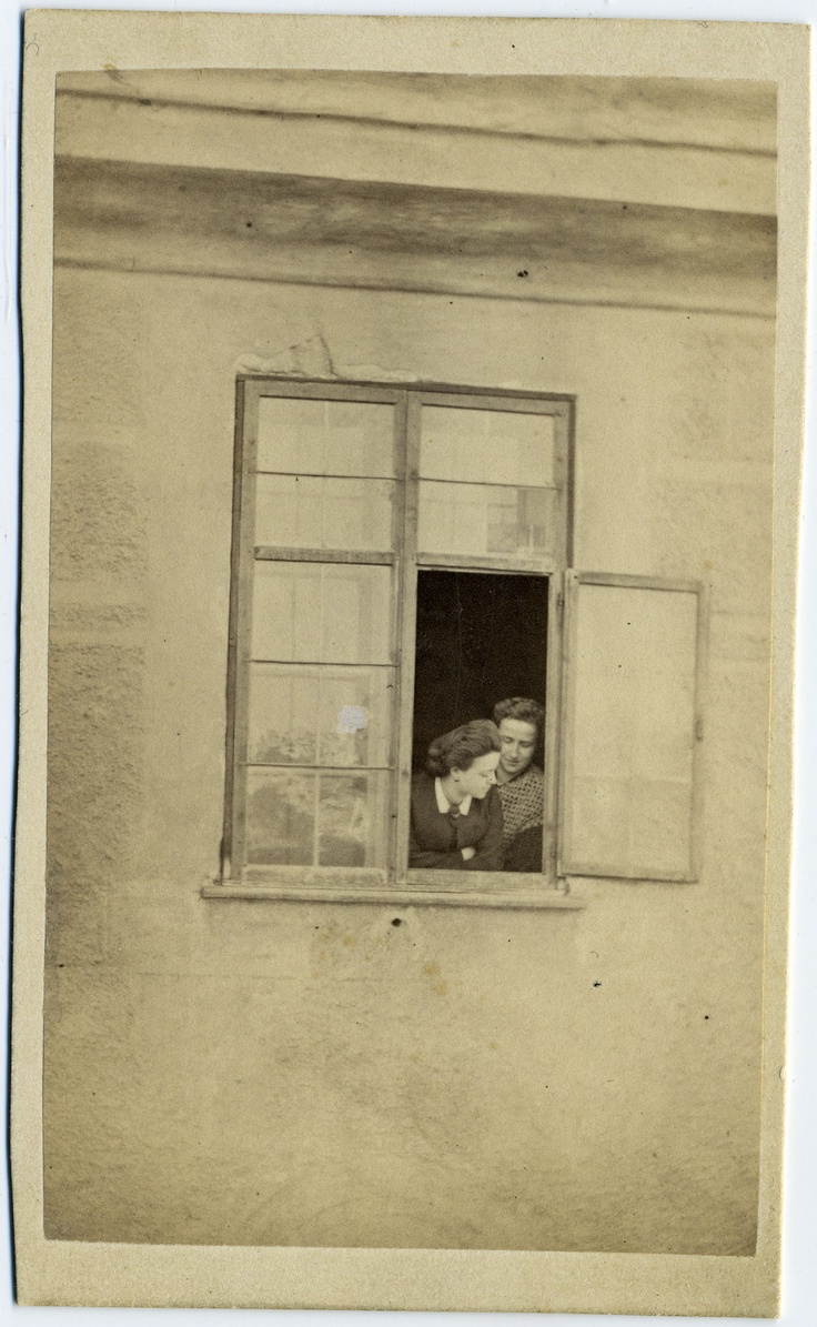 The window. 1870