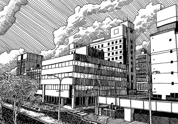 Japan sketches #4 on Behance