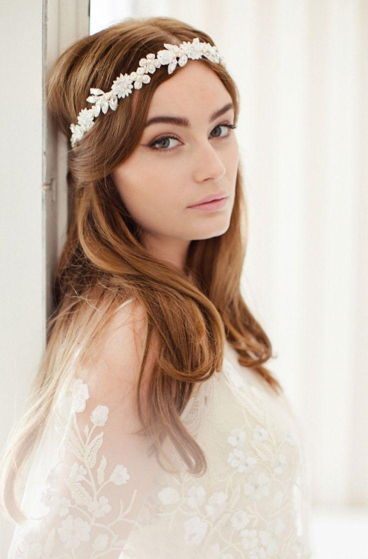 Freja : Jannie Baltzer 2016 Headpieces and Bridal Accessories   https://www.itakeyou.co.uk/wedding/jannie-baltzer-2016-bridal-accessories   UK Wedding Blog:::