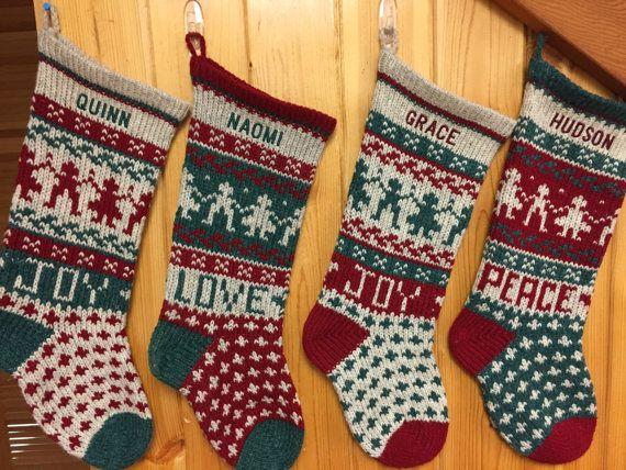 Best 25+ Green christmas stockings ideas on Pinterest   Black ...