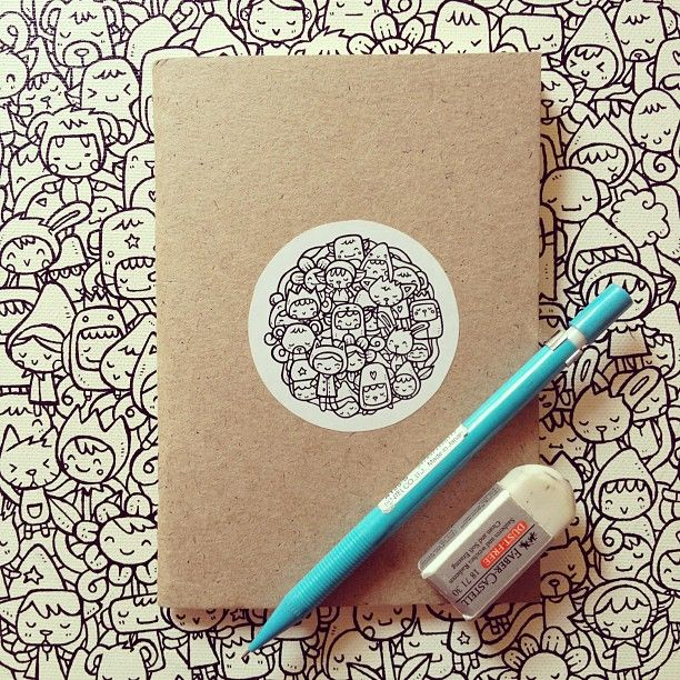 * azreenchan  *: Doodle : My Doodle Book