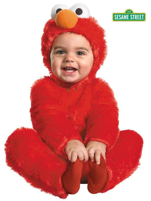 Check out Toddler Elmo Comfy Fur Costume - Wholesale Sesame Street Costumes for Infants