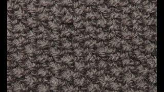 muts loom breien - YouTube gerstekorrel