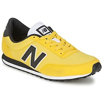 From their Fall collection, if these New Balance trainers don't motivate you, nothing will! #shoes #trainers #newbalance #yellow #fashion #summer