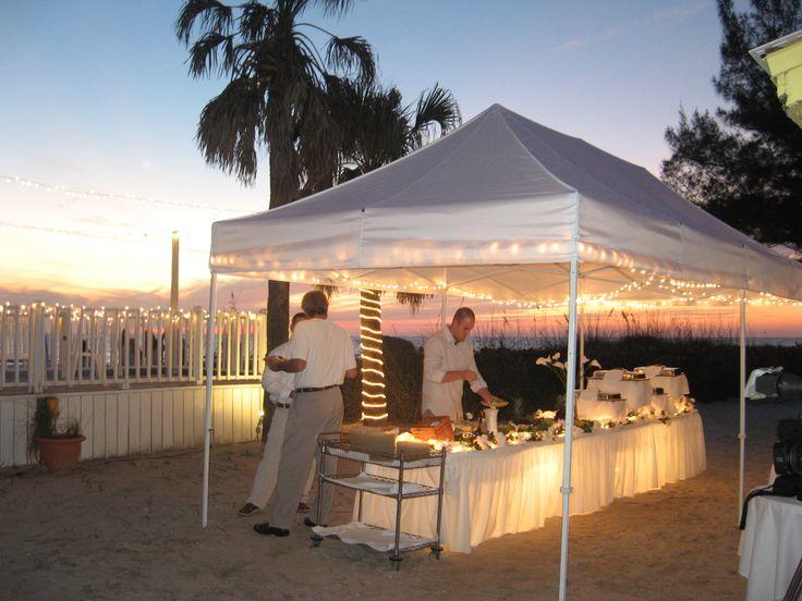 Sandbar S Special Events Wedding Pavilion Anna Maria Island Florida Beach Weddings Pinterest And