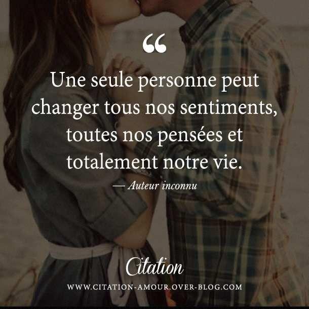 Une seule personne peut changer tous nos sentiments toutes nos pens es et to - Peut on expulser une personne agee ...