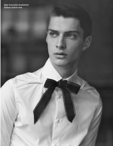 #Matthew Bell By Cecilie Harris #bow