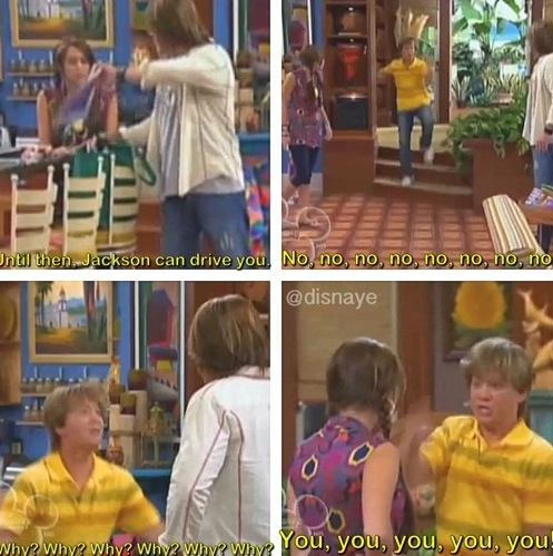 """Me and my sister would quote this everyday for months after we saw this episode. No lie"""""""