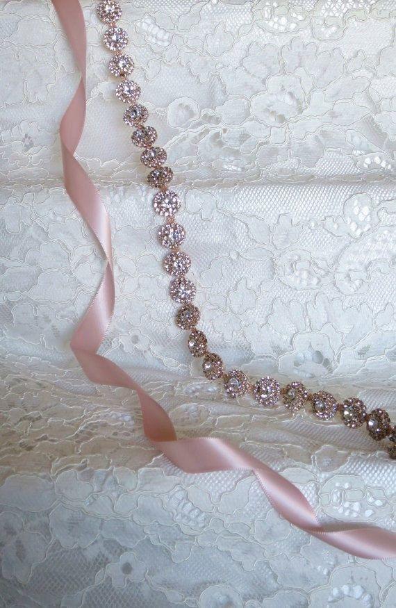 12  Hey, I found this really awesome Etsy listing at https://www.etsy.com/listing/258881691/rose-gold-crystal-rhinestone-bridal
