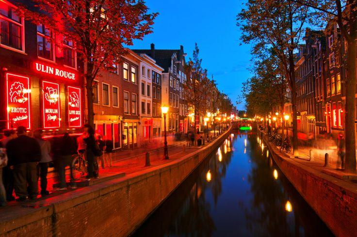 Barrio Rojo de Amsterdam, Holanda.