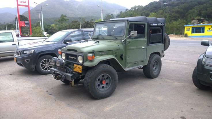 FJ40 1979 El Diviso edition, fully restored - not original 100% to improve driver and passenger comfort on long trips