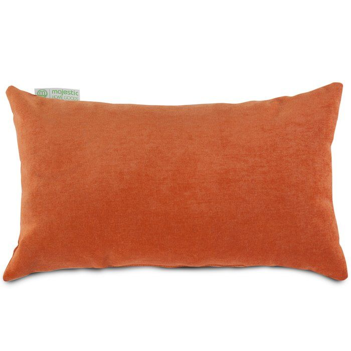 Edwards Velvet Lumbar Pillow