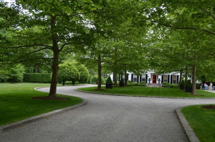 Different tree lined driveway.                                                                                                                                                                                 More