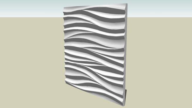 波纹板 马赛克Revestimento - 3D Warehouse
