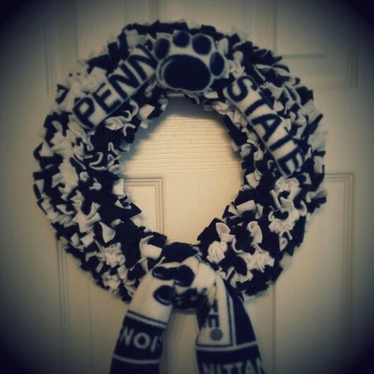 Penn State Polar Fleece Wreath