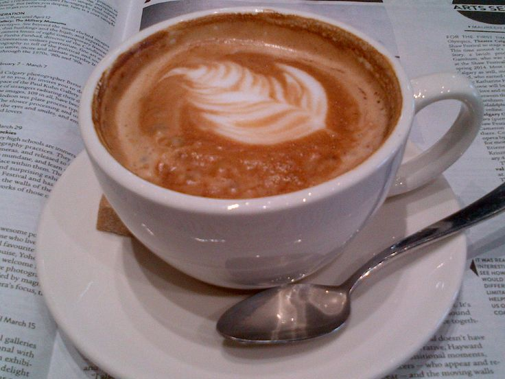 @BiteYYC Latte - perfect on the weekend with a paper