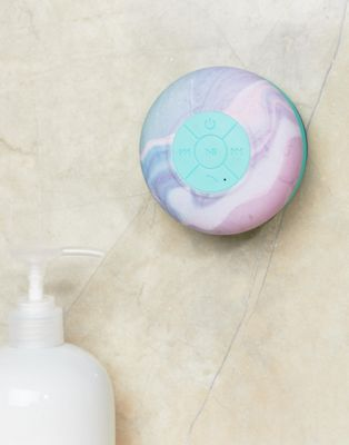 Typo Rainbow Marble Bluetooth Shower Speaker