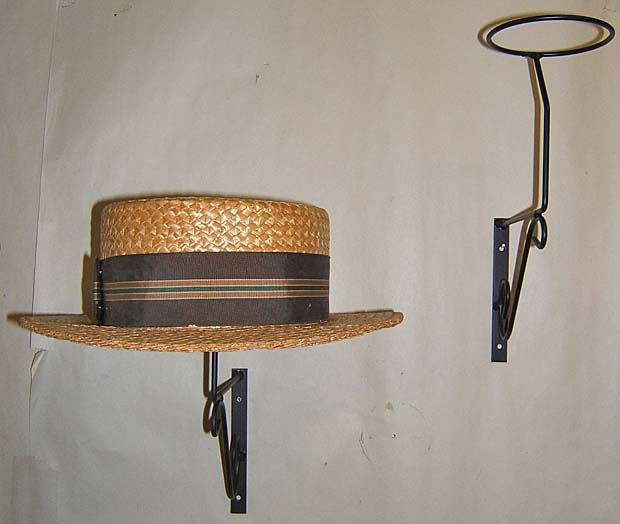 Google Image Result for http://www.mathewswire.com/ebay/. Wall Hat  RacksWall Mounted ... - 16 Best Hat Racks Images On Pinterest Hat Racks, Google Images