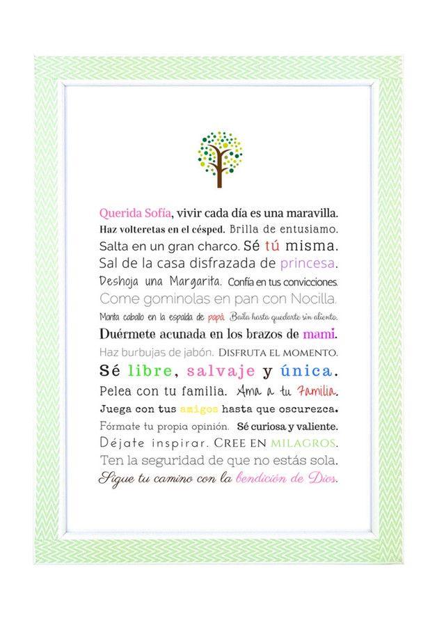 Taufgeschenk Mädchen Auf Spanisch Geschenk Taufe Junge