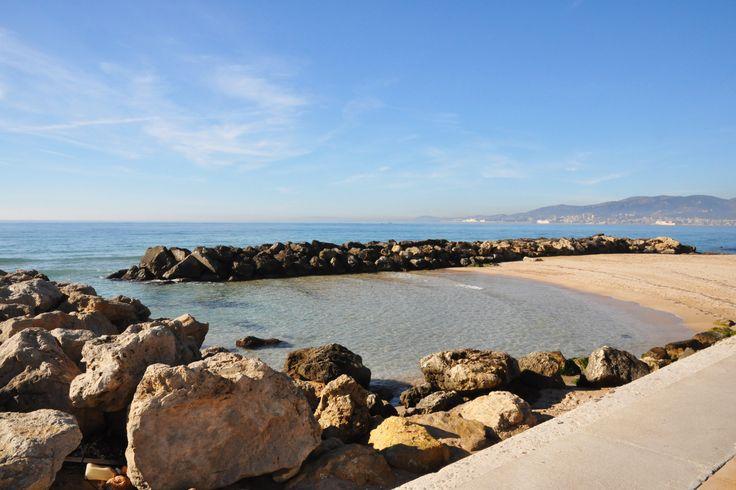 Molinar Beach, Palma de Mallorca.