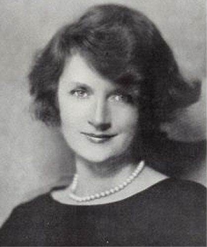 Billie Burke (better known to all of you as Glinda the Good in the movie version of The Wizard of Oz).