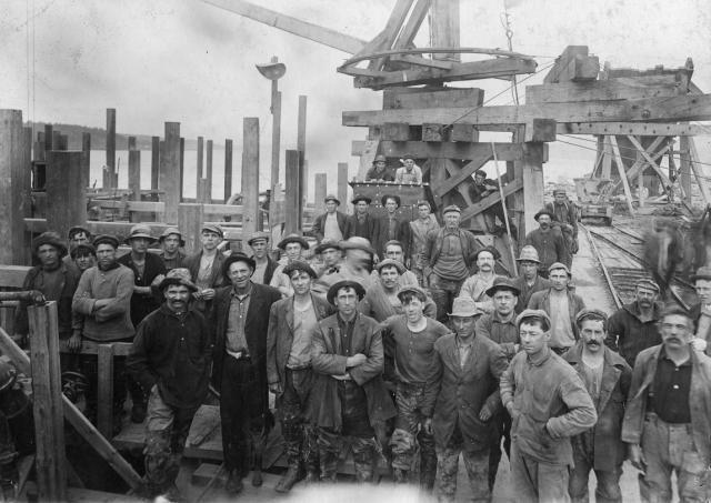 Pont de Québec-Le Chantier et les Ouvriers