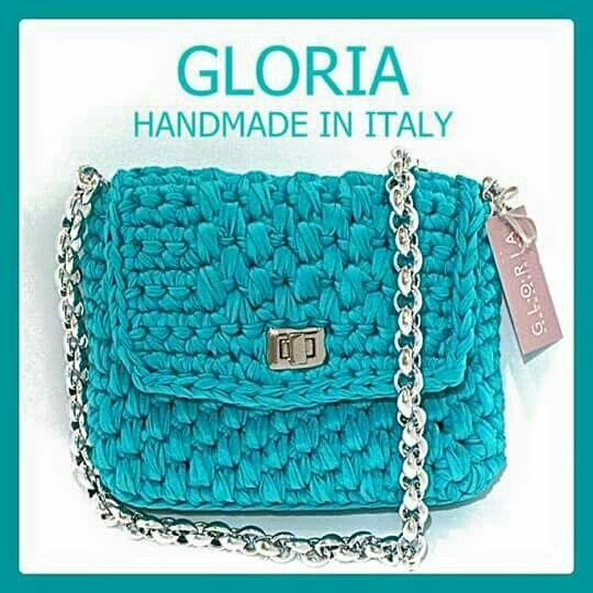 Gloria borsa turchese