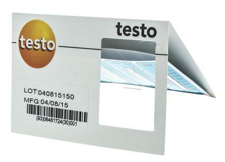 Achetez Étiquette thermosensible Testo 2 niveau Vertical, 50 x 18mm