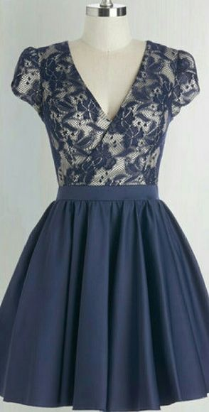 """Chi Chi London Navy Dress Gorgeous navy blue Lace/Satin dress. Fully lined. Tulle underskirt. Length 34"""". Sz. 10. Purchased new, from Mod Cloth. Never worn. Last stock photo shows actual color. Chi Chi London Dresses Prom"""