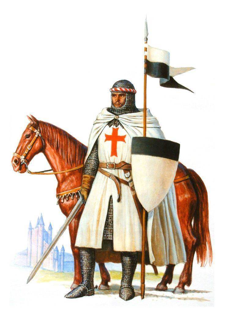 Chevalier Templier Templiers Et Histoire De L Ordre Du