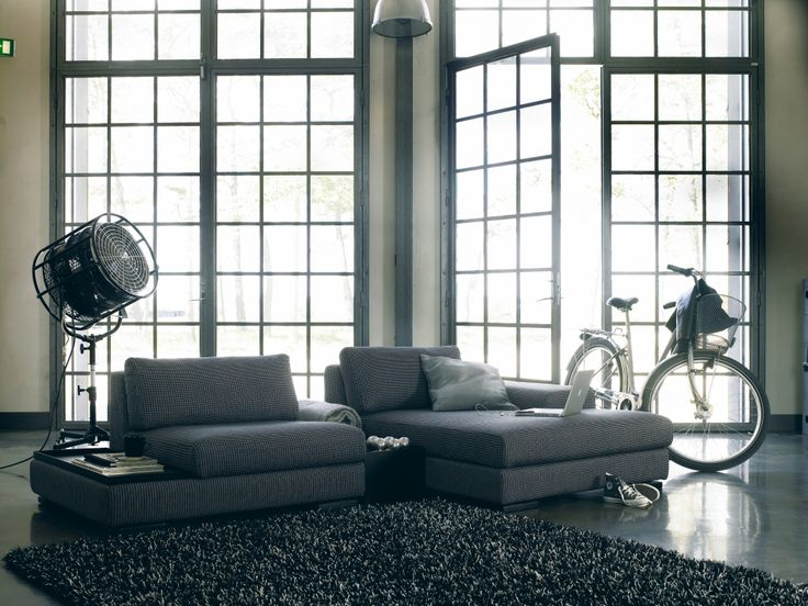Cartago Sofa Range - 1.5mod with tray + table + chaise