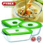 Pyrex ovenschalenset met 3 schalen! Van € 69,95 voor € 22,95!
