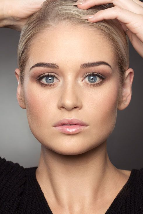 Beauty portrait. Wedding makeup by Alarna Taylor Photographer Nina K Photography