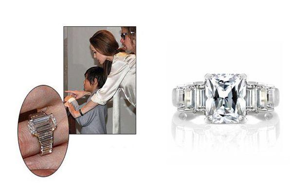 El anillo de diamantes ANGELINA JOLIE, cuenta con un increíble diseño inspirado en la sortija de compromiso de la actriz que da nombre a la joya. Es una pieza en la que los únicos protagonistas son los diamantes, perfecta para aquellos que deseen un anillo de pedida a la altura de las divas de Hollywood.