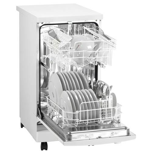 "$574 Compact Appliances.  Danby 18"" Energy Star Portable Dishwasher - DDW1899WP"