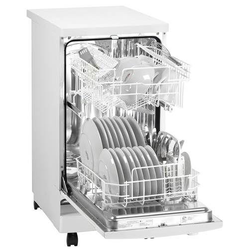 "$574 Compact Appliances.  Danby 18"" Energy Star Portable Dishwasher - DDW1899WP"