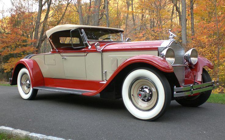 1929 Packard Super Eight - (Packard Motor Car Company Detroit, Michigan 1899-1958)