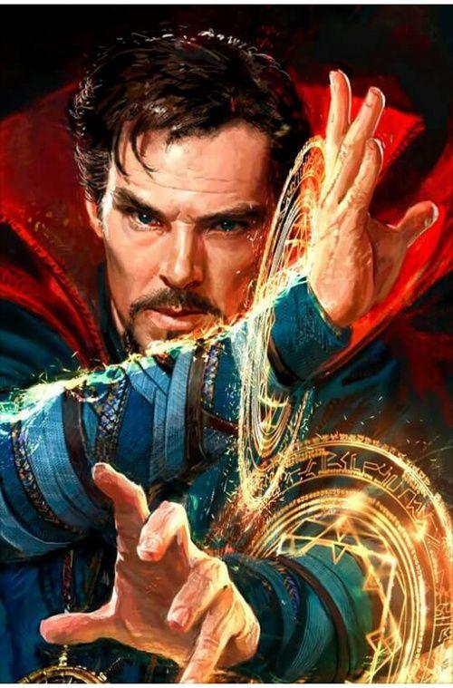 dr strange, Marvel, and benedict cumberbatch image