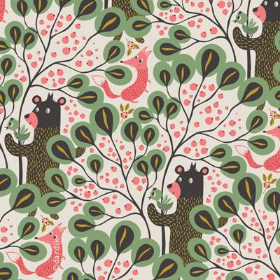 orange you lucky!: Bears Patterns, Cute Bears, Dardik Bears, Wood Patterns, Prints Patterns, Dardik Orange, Bears Foxes, Grizzly Bears, Patterns Bears