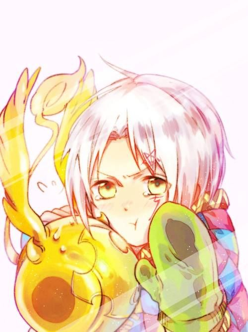 allen and timcanpy from d.gray-man #anime